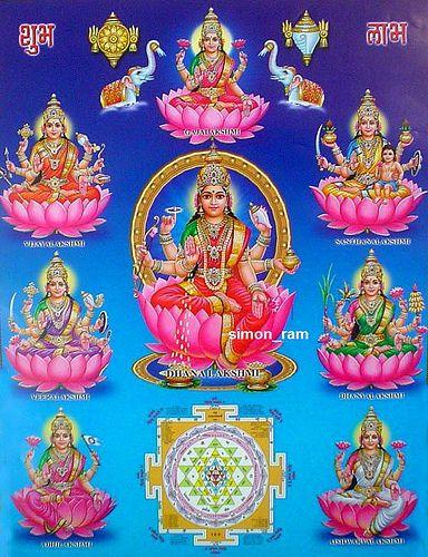 Ashta Lakshmi Diwali Greetings, Image, Happy Diwali Maa Laxmi  Messages, Photos, Pictures Wishes Wallpapers Download