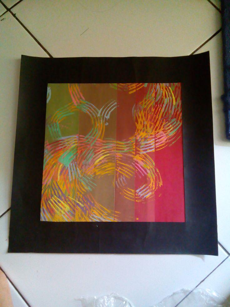 NIRMANA 2D | color transformation, tekstur by fork, poster color
