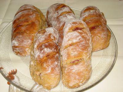 A caixa do tempo: Pão de Centeio com Chouriço