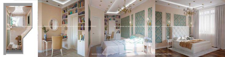 Дизайн интерьера Жилой комплекс Лазурный берег Одесса Архимас фото