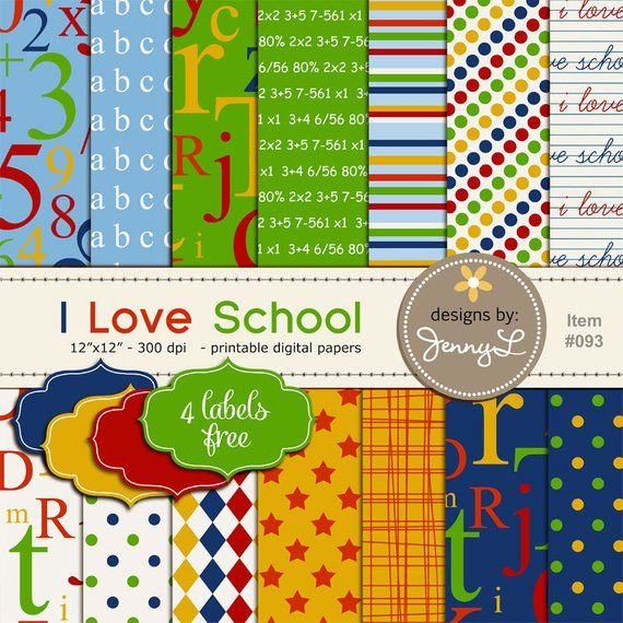 School owls digital clipart set  for Personal and Commercial Use-paper crafts,card making,scrapbooking,web design