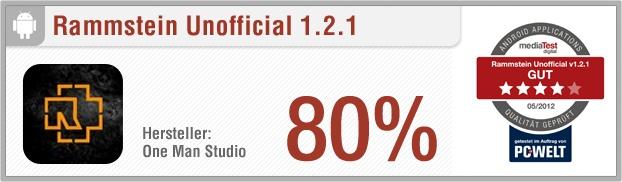 """App-Test: Rammstein Unofficial - Die Android-App """"Rammstein Unofficial"""" liefert dem Nutzer Informationen und Fakten rund um die Rockband Rammstein: Tourdaten, Videos, Bilder und ein Quiz. Außerdem ist eine Diskographie vorhanden. Weitere Infos auf unserem Portal: http://www.apptesting.de/"""