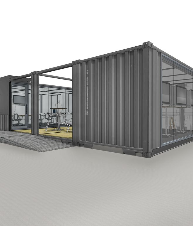 Best Container Lust Images On Pinterest Architecture - All terrain cabin shipping container homes