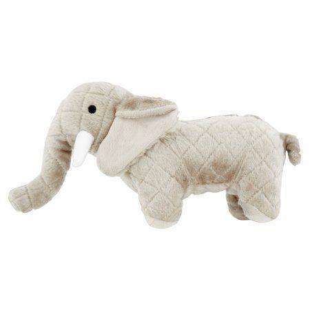 Vip Products Mighty Safari Elephant Dog Toy Multicolor Elephant Stuffed Animal Interactive Dog Toys Toy Dog Breeds