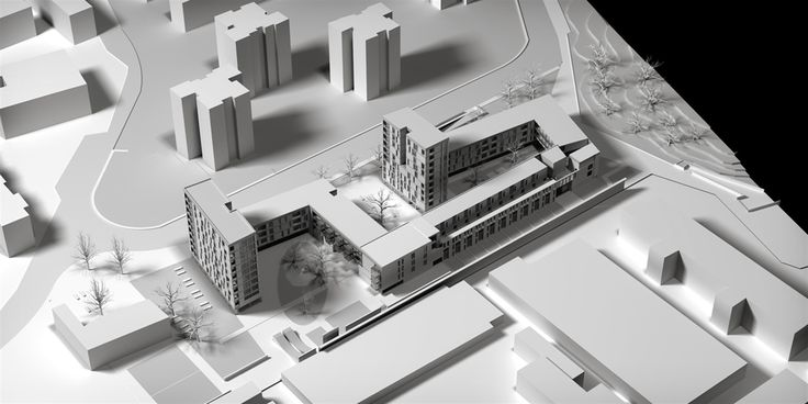 OPERASTUDIO - Competition - Social housing - #AAA architetti cercasi #Milan #maquette