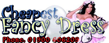 CheapestFancyDress.co.uk for all your cheapest fancy dress costumes and party requirements