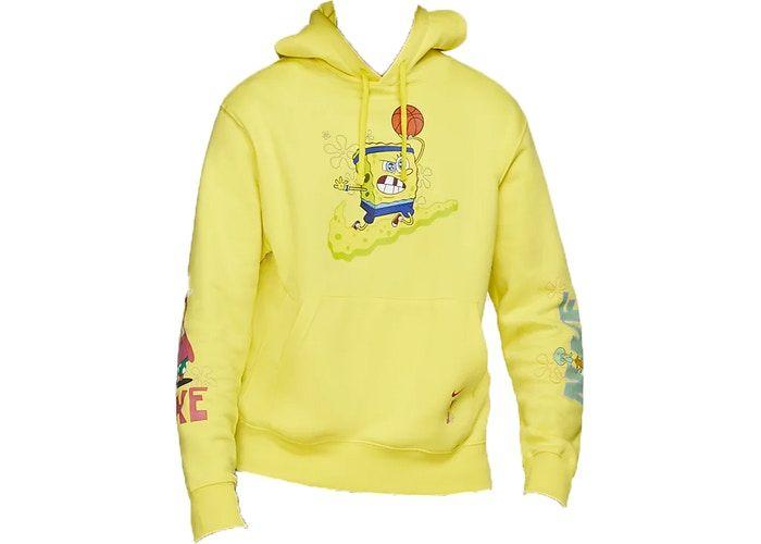 Nike Kyrie x Spongebob Dri Fit Hoodie (Kids Sizing) Dynamic