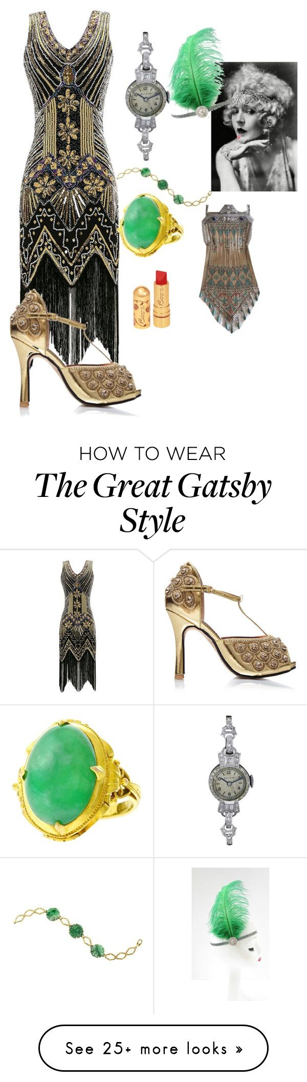 """""""Untitled #186"""" by tanya-gosnell-brewer on Polyvore featuring Bulova and emeraldgreen"""