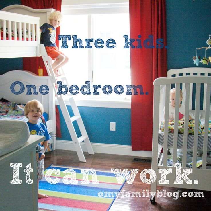 """2 in bunk beds, great """"room rules"""" for the bedroom. Move toys to a common area, so bedroom is for sleep only."""