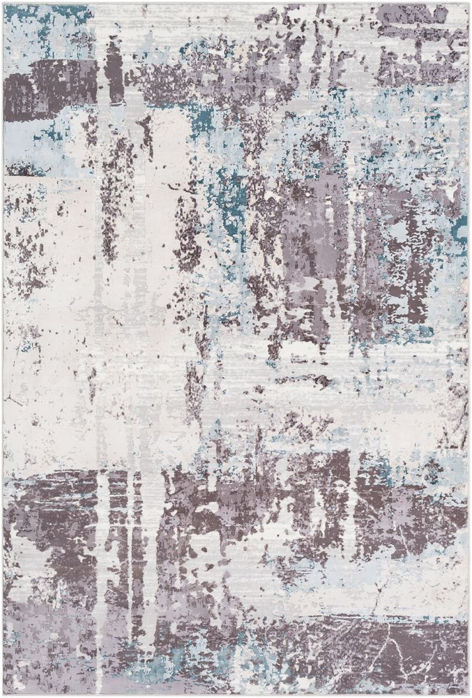 The Genesis Rug By Surya Has A Machine Made Modern Abstract