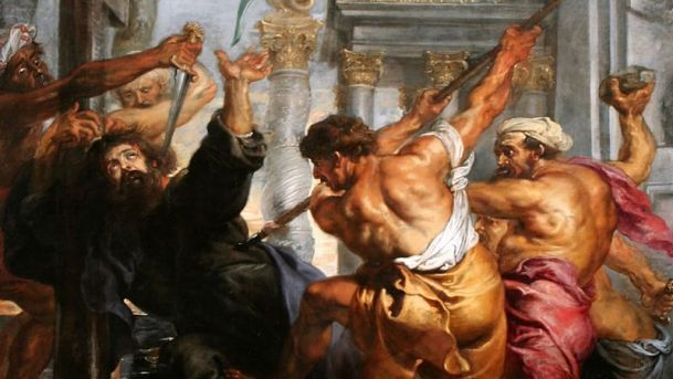 Martyrdom of St. Thomas, by Peter Paul Rubens, dating to about 1636. read more: http://www.haaretz.com/israel-news/this-day-in-jewish-history/1.692829
