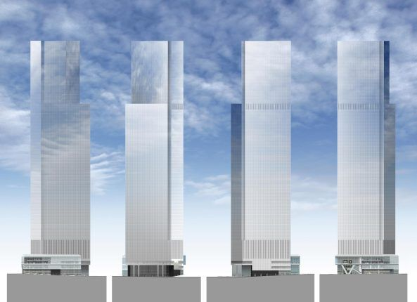 WTC, World Trade Center, Fumihiko Maki, 4 WTC, New York, Ground Zero, Four Wold Trade Center, Michael Bloomberg, Manhattan, 9/11, Wolkenkratzer, Skidmore, Owings and Merril SOM, Fumihiko Maki Architects