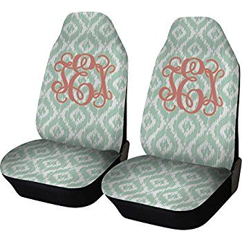 Image result for seat covers bucket seats, monogram A, gray