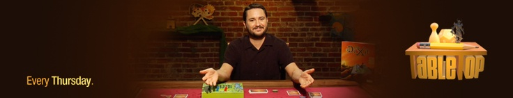 Geek & Sundry - TableTop    Great Web Series with Wil Wheaton playing various board games. Entertaining and a great introduction to some new games.