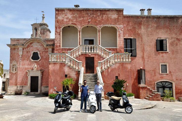 Escursione in vespa tra calette e campagne fino alla Masseria Spina, viaggio a #Monopoli #blogtourmonopoli