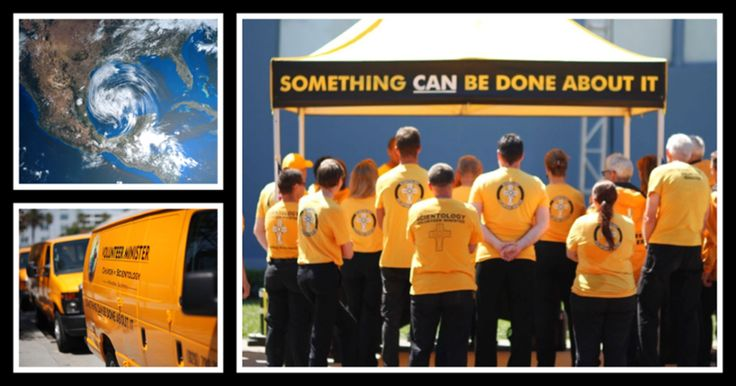 Churches of Scientology Respond to Hurricane Harvey    Get the story on the @ScientologyNewsroom site http://qoo.ly/hd2yh    Scientology Volunteer Ministers international headquarters calls for hundreds of volunteers to join Hurricane Harvey disaster response. First teams are assembled and deployed.    When Hurricane Harvey hit land in Corpus Christi, Texas, Friday, August 25, 130 miles-per-hour winds felled trees and blew roofs off homes and businesses. The storm has left some 300,000…