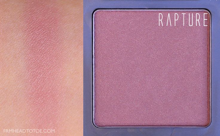 From Head To Toe: REVIEW & SWATCHES: Urban Decay Afterglow Blush (all shades)