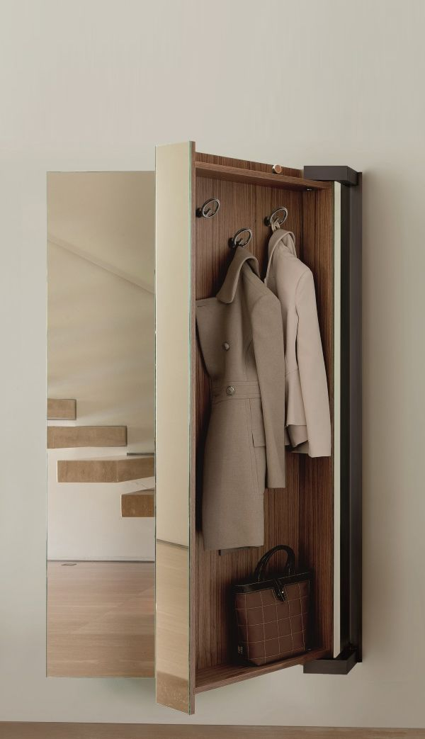 Interior Design   Porada Camper Coat Hanger With Mirror By Tarcisio Colzani  P 46402