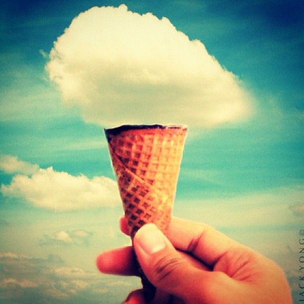 a simply big idea!: Picture, Clouds, Dream, Cream Cloud, Art, Ice Cream, Photography, Icecream