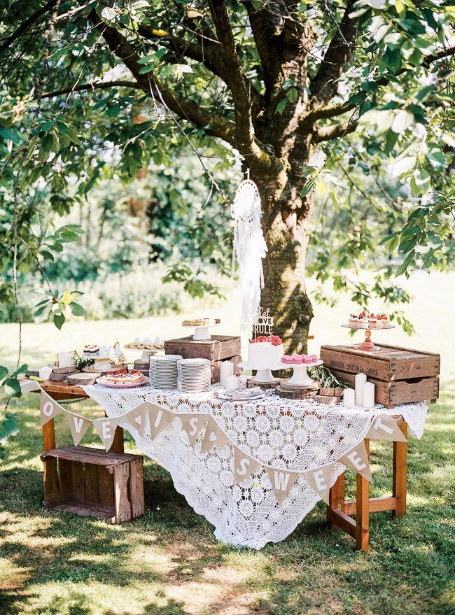 Lekker ontspannen, heerlijk weer, heerlijk eten, dat is hoe een bohemian bruiloft hoort te zijn.En dat hebben Ilse en Corné goed begrepen!