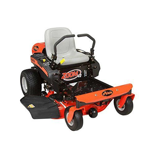 """Product review for Ariens Zoom 42 - 19hp Kohler 6000 Series V-Twin 42"""" Zero Turn Lawn Mower. Ariens Zoom 42 – 19hp Kohler 6000 Series V-Twin 42"""" Zero Turn Lawn Mower 42"""" Stamped Deck 3 Spindles EZT Transaxles Cutting Width 1.5"""" – 4.5"""" (38mm – 114mm) Not for sale in California Great residential zero turn lawn mower for medium sized..."""