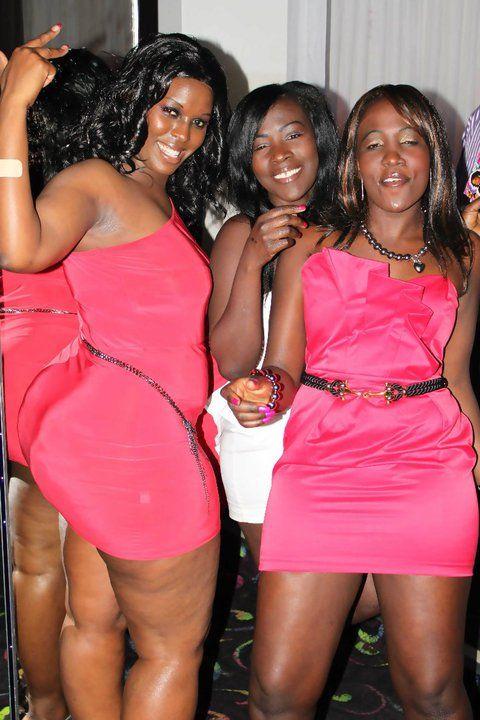 Julie Kaka African Girl Black Curves Plus Size Beauty