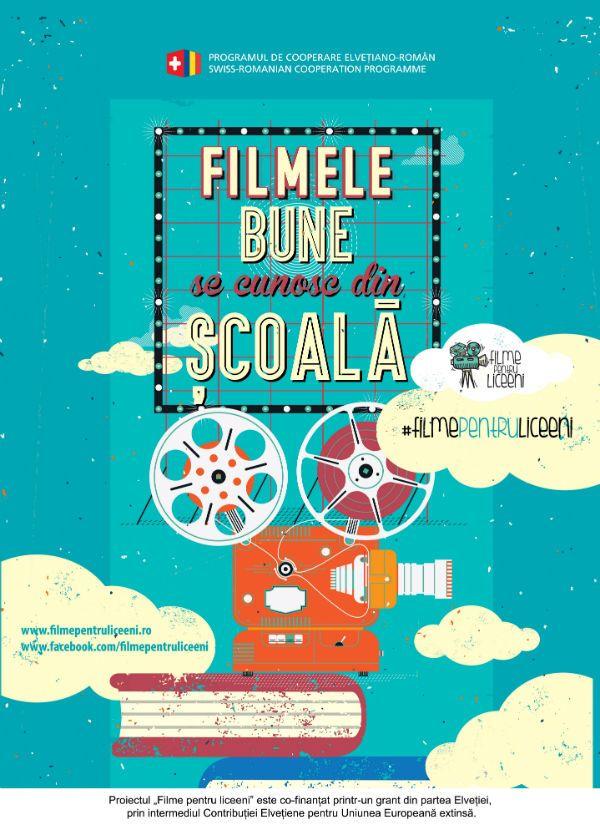 """Cafe Gradiva: """"Filme pentru liceeni"""" - lansarea proiectului"""