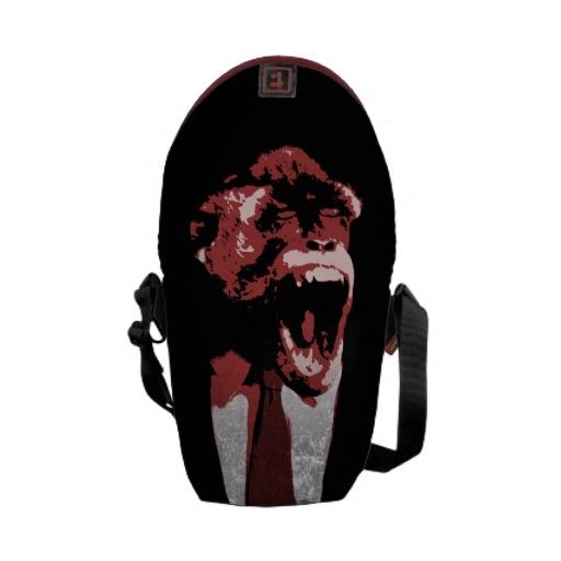 Monkey Suit Messenger Bags