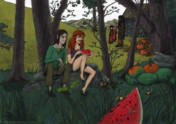 История любви: Северус Снейп и Лили Эванс