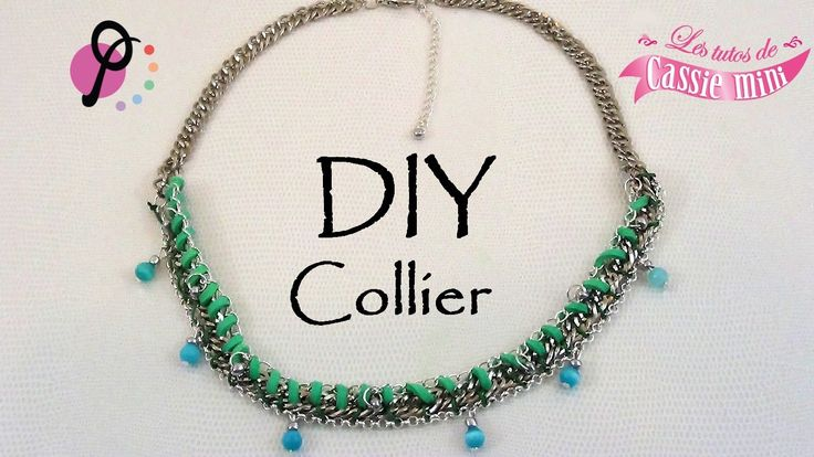 { DIY } collier PimPomPerles
