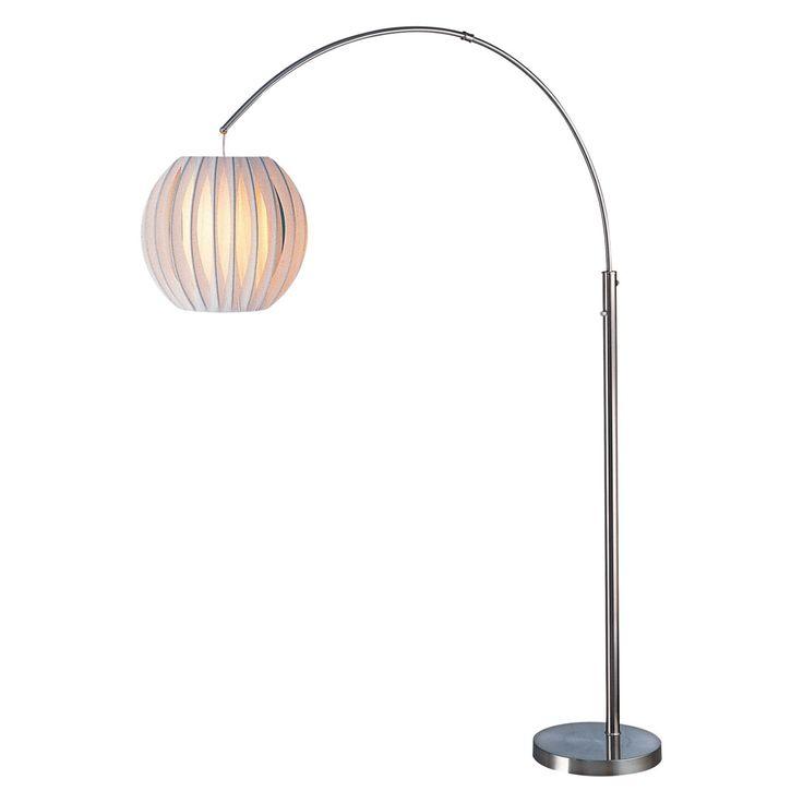 Lite Source LS-8870PS/WHT Deion Arch Floor Lamp - LS-8870PS/WHT