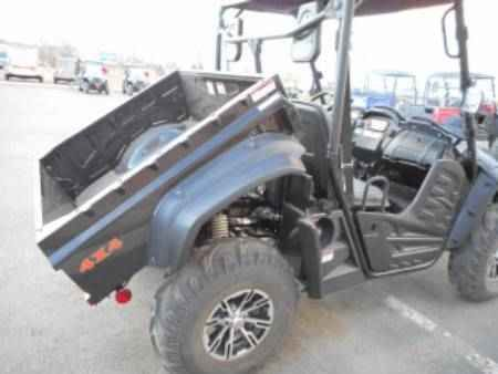 New 2015 Hisun HS 500 ATVs For Sale in Colorado. Manufacturer overstockallows for a great deal onthis quality side by side.The HS500 is the perfect size for fun activities as well as work around the house. Equipped with a KFI snow blade that is lifted by the standard 3,500 lb winch. Also standard on the HS are hard top, windshield, hitch, aluminum rims, turn signals, digital display, bucket seatsand solid doors. Powered by 471 cc, fuel injected, liquid cooled engine. Includes one…