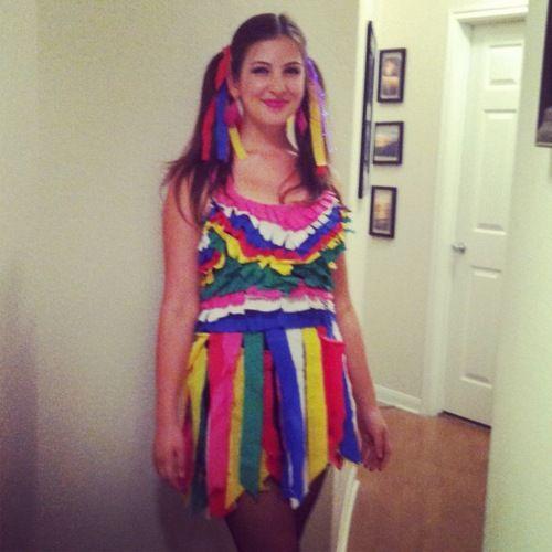 DIY Halloween Pinata Costume