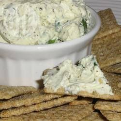 Pesto Cream Cheese Spread @ allrecipes.com.au