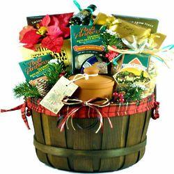 Say Merry Christmas Delicious Italian Food Gift Basket