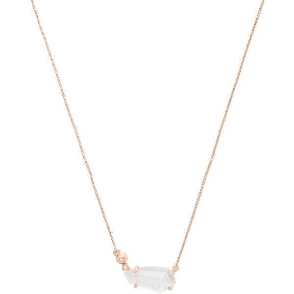 Kendra Scott Barbara Necklace found on Polyvore featuring jewelry, necklaces, kendra scott necklace, 14k necklace, lobster clasp necklace, 14 karat gold pendant and pendant jewelry