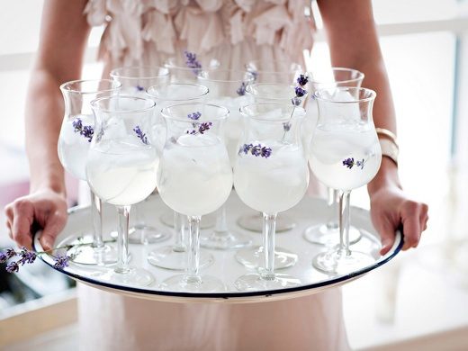 Lavender Lemonade-- perfect for a summer party