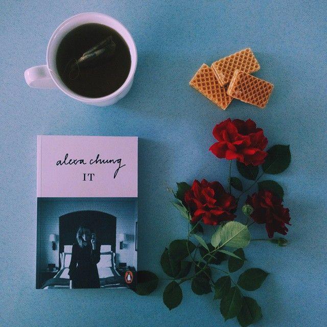 The fashion it girl Alexa Chung. #bookstagram #decitit #fashionbooks