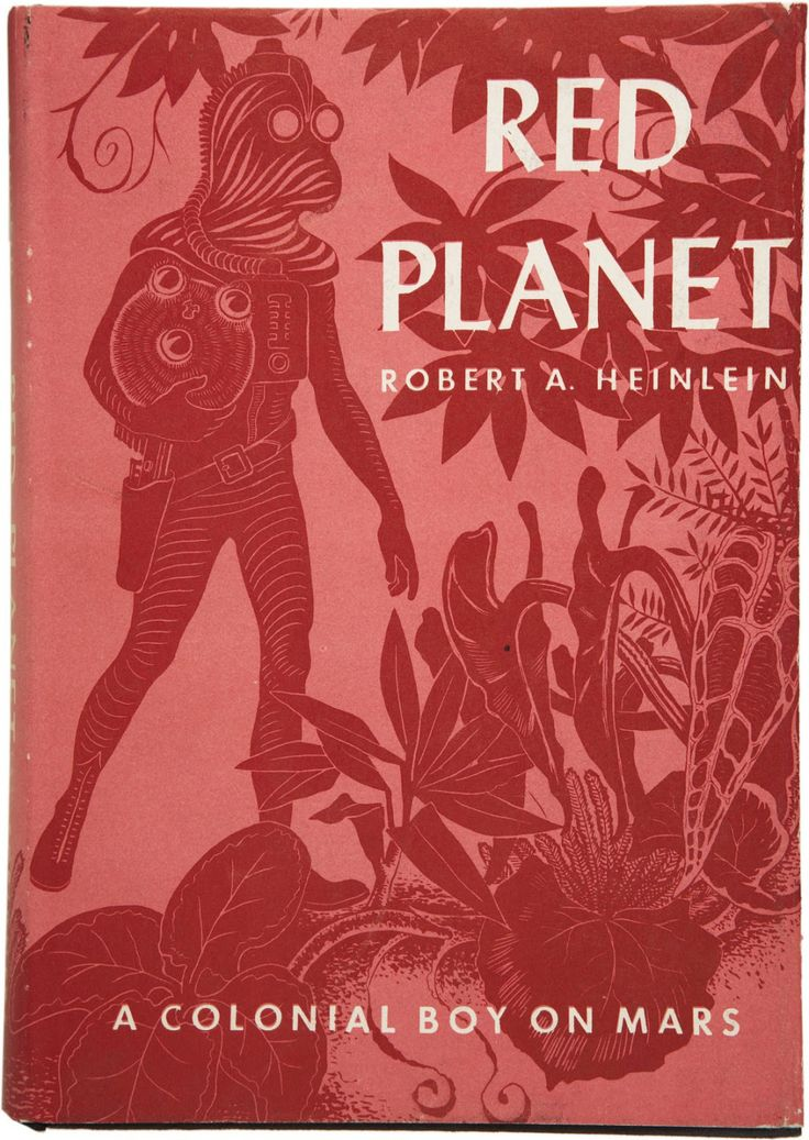 Red Planet (1949) cover front Red Planet, Robert A. Heinlein
