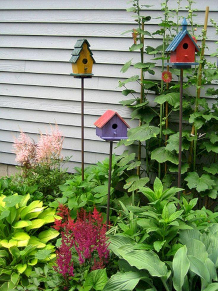 Vogelhaus im Garten, der den Park schöner macht 24 (Vogelhaus im Garten, der den Park schöner macht 24) Design-Ideen und Fotos