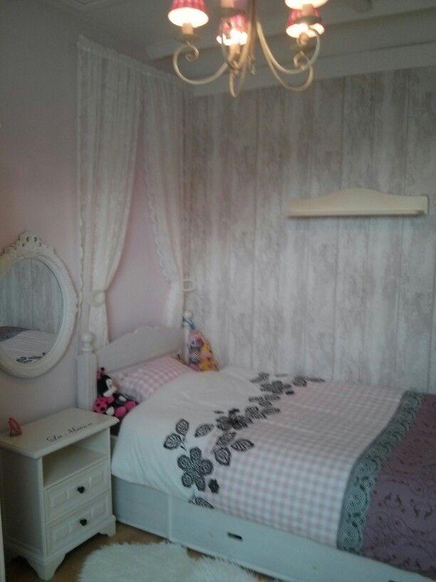 Meer dan 1000 idee n over meisjes slaapkamer gordijnen op pinterest meisjes gordijnen - Cabine slaapkamer meisje ...