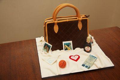 How to Make a Handbag Cake ~ Bronnie Bakes