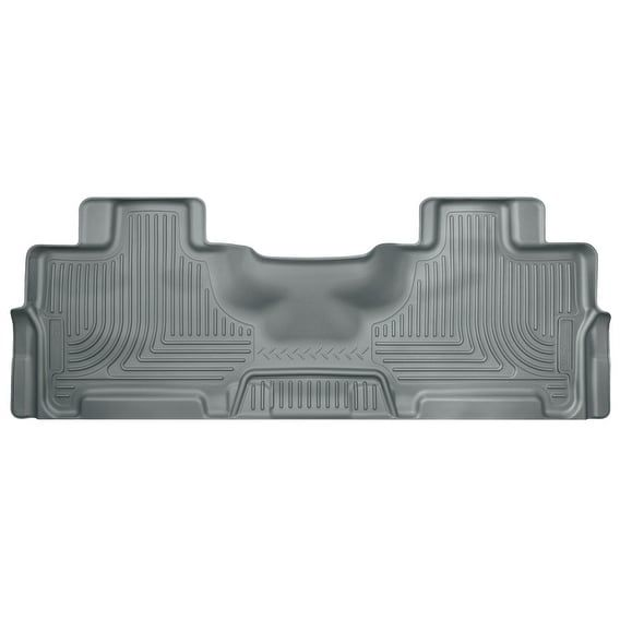 Husky Weatherbeater 2012-2016 Ford Expedition EL King Ranch 2nd Row Grey Rear Floor Mats/Liners