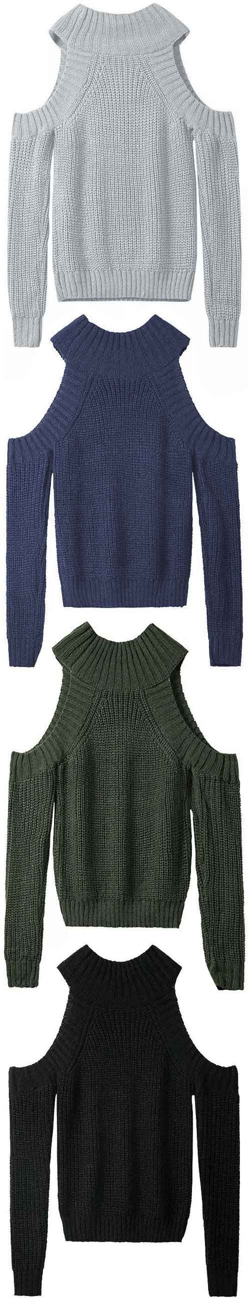 Yes, it's only $28.99& shorter Shipping Time! Free shipping & Easy Return + Refund! It's time to Show Off! This unique Off the Shoulder Sweater has it all. You will feel like you are floating while walking on street.