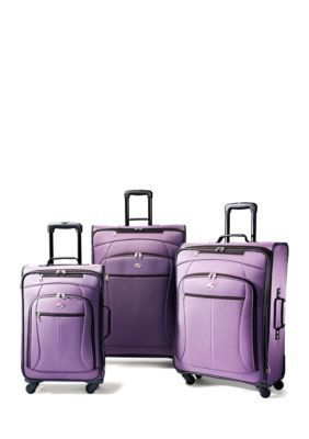 American Tourister  POP 3 Piece Purple Luggage Set - Online Only