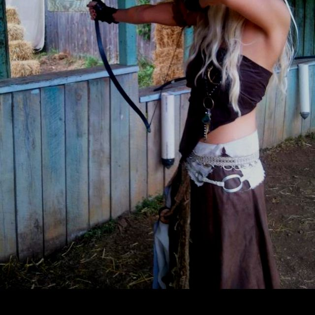 Game of thrones costume my friend and i made my for Game of thrones daenerys costume diy