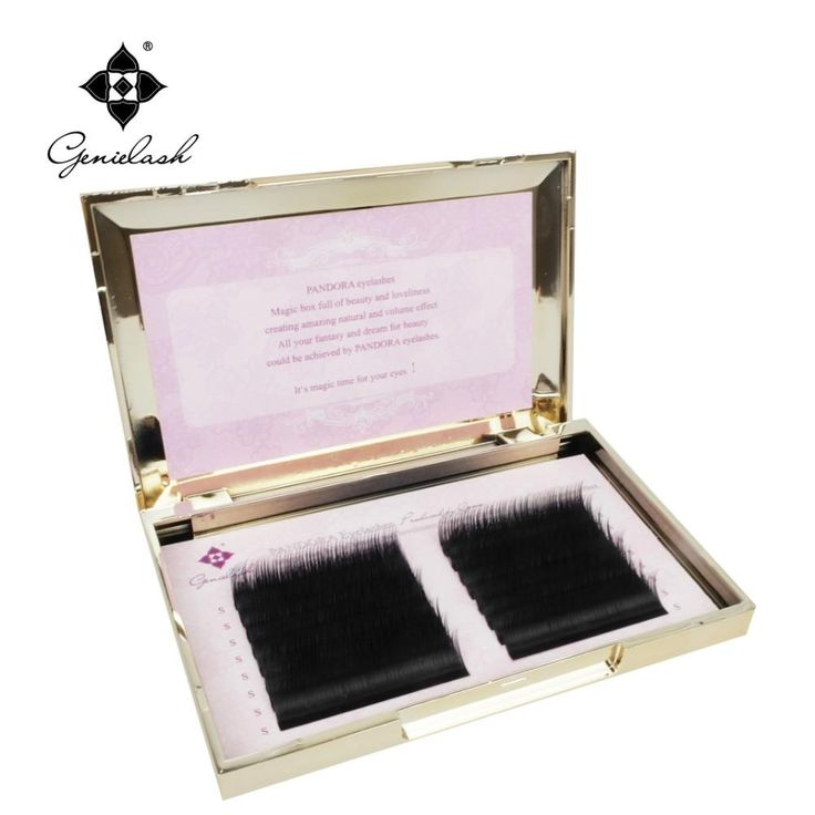 [Visit to Buy] 16 lines 0.07/0.10 3D-6D Volume False Eyelash Extension Mixed Lengths in One Strip Fancy Packing #Advertisement