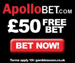 ApolloBet Free £50 Bet