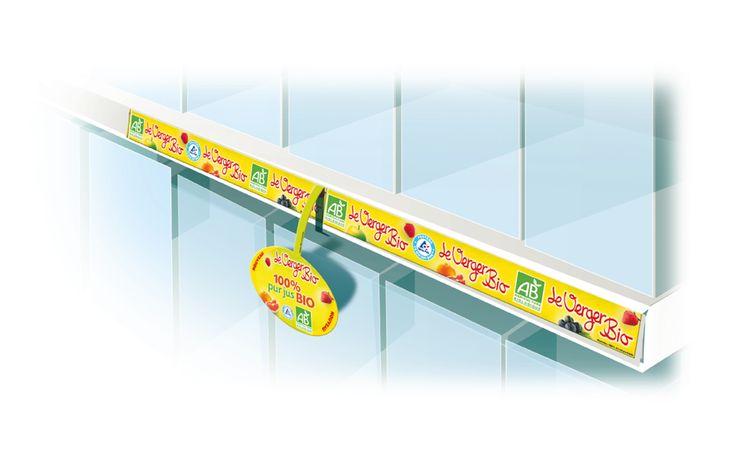 Jamet Communication PLV : réglette + stop rayon acrobate