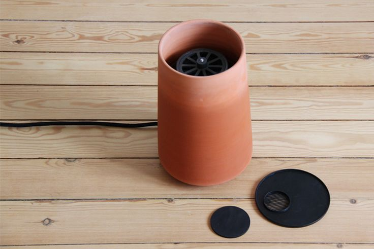 bio air-conditioning 'cold pot' by thibault faverie